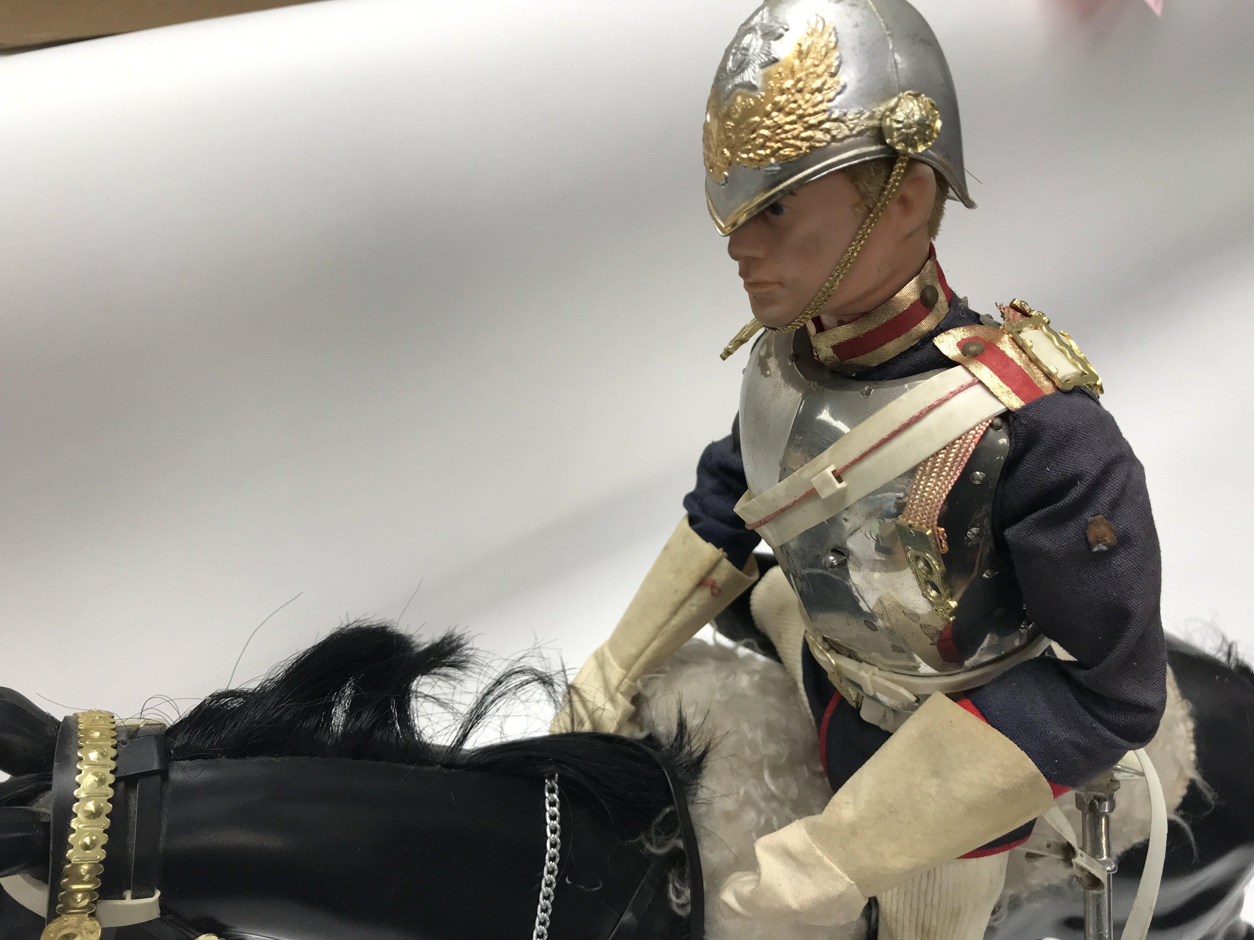 A Vintage Action Man in Blues and Royals Uniform, - Image 2 of 2