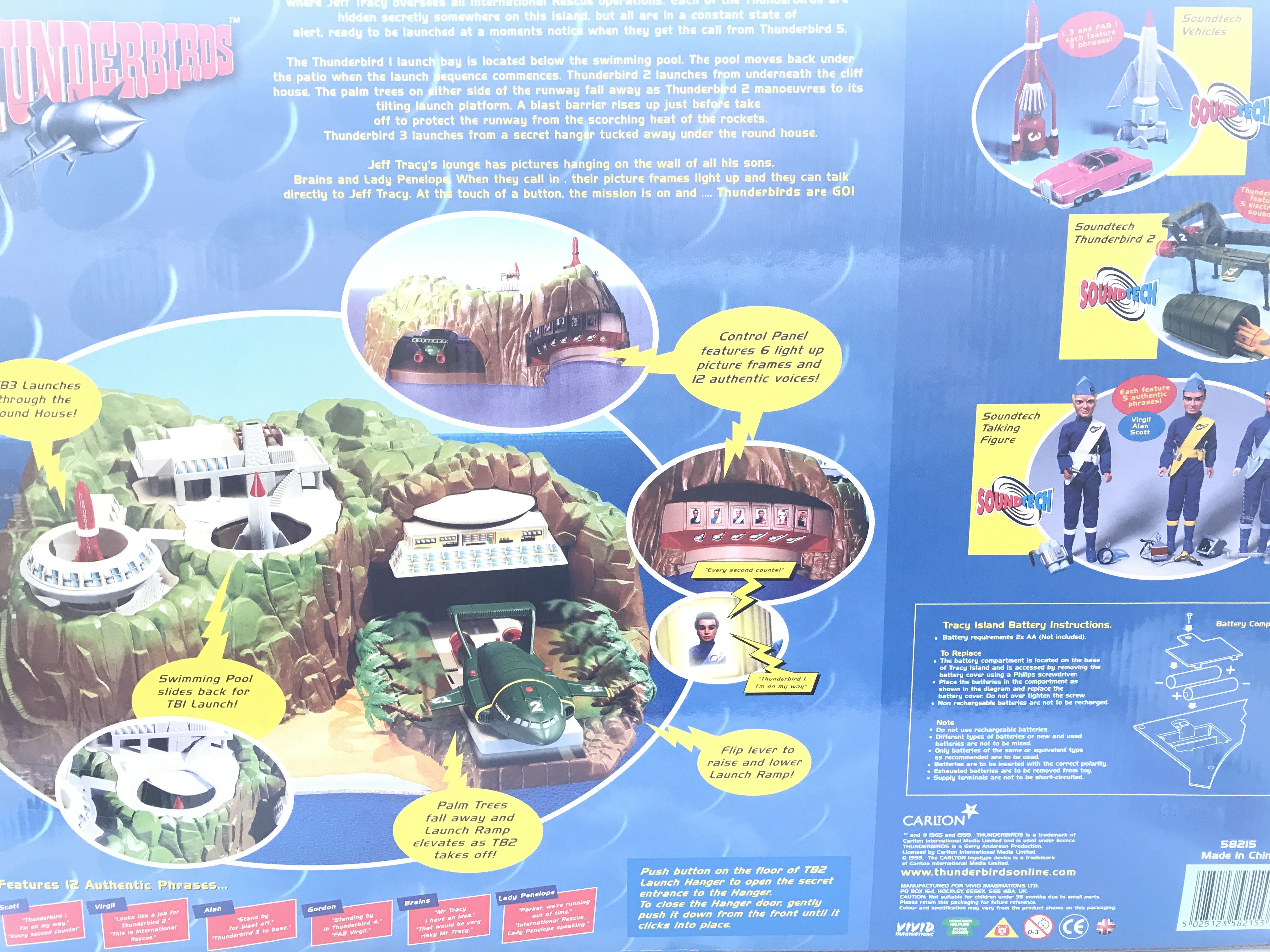 A Carlton Thunderbirds Tracy Island Boxed. - Image 2 of 2