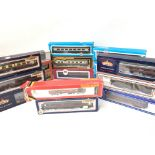 A Collection of 00 Gauge Coaches Various Makes inc