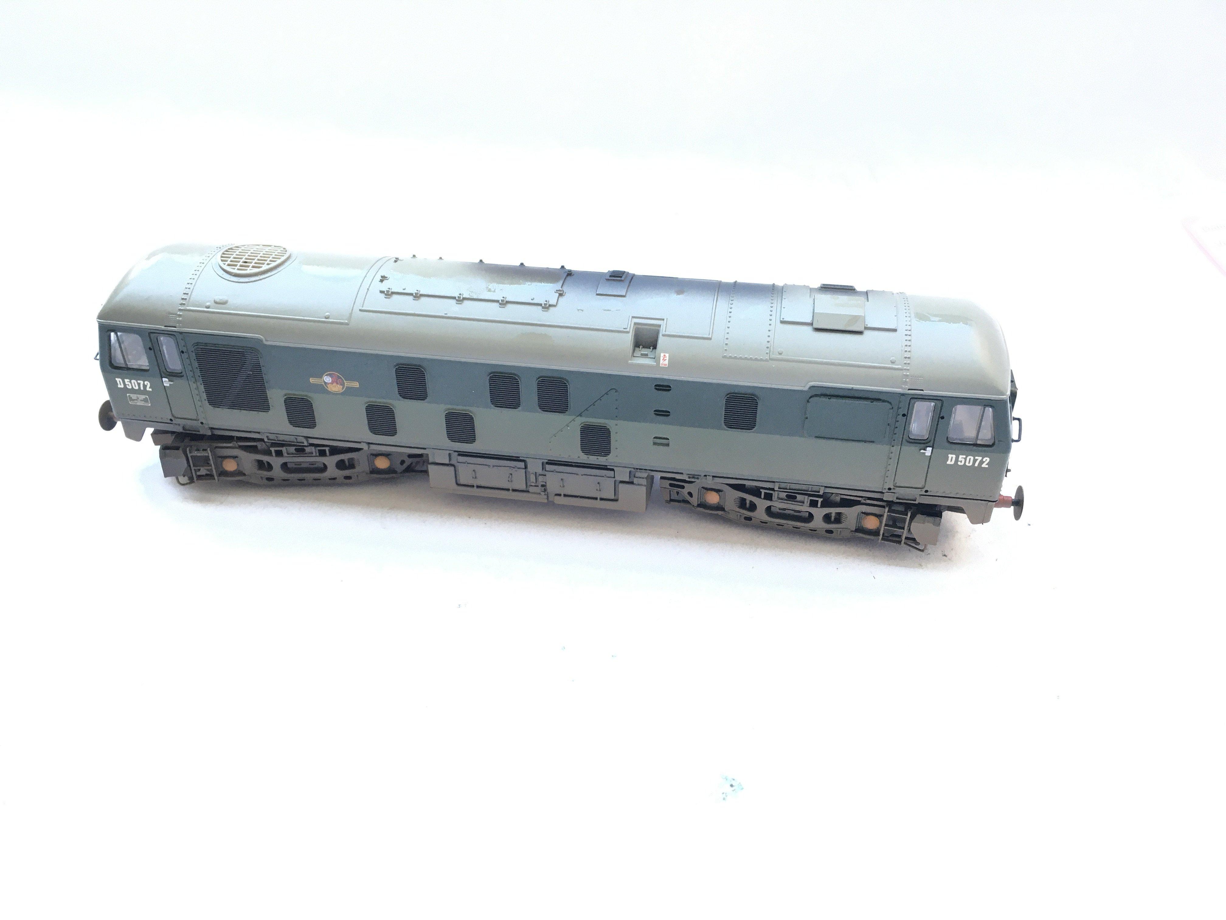 A Bachmann type 2/Class 24 Diesel Locomotive D5072