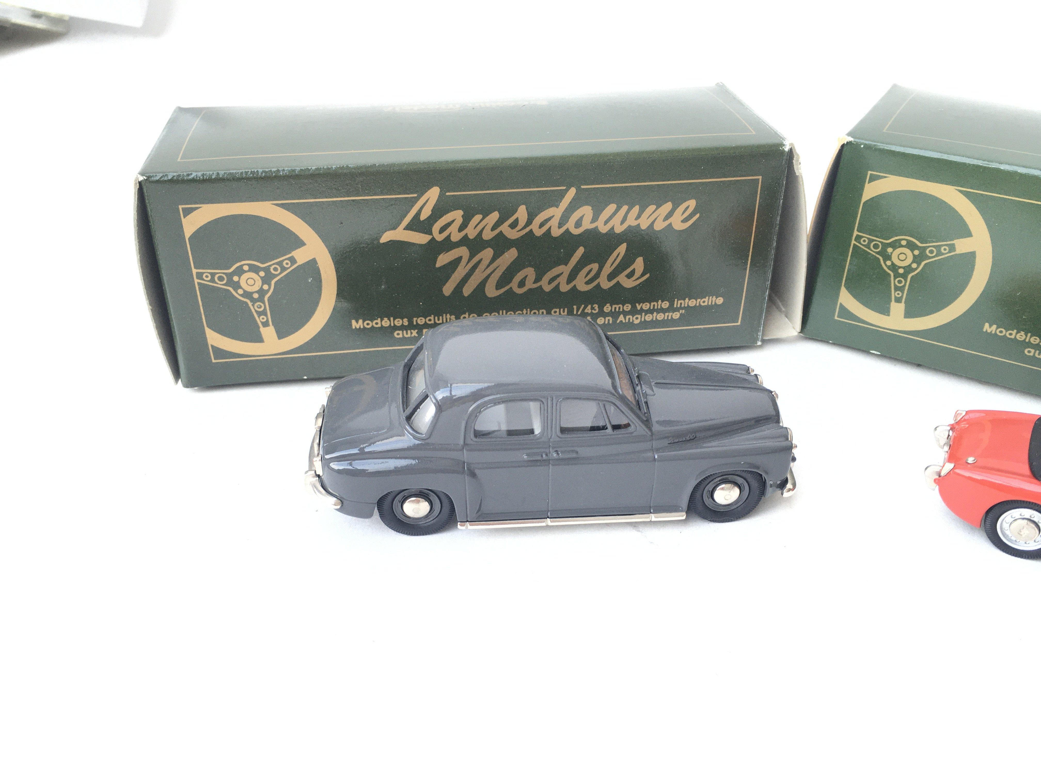 2 X Lansdowne Models including LDM.5 1957 Rover P4 - Image 2 of 3
