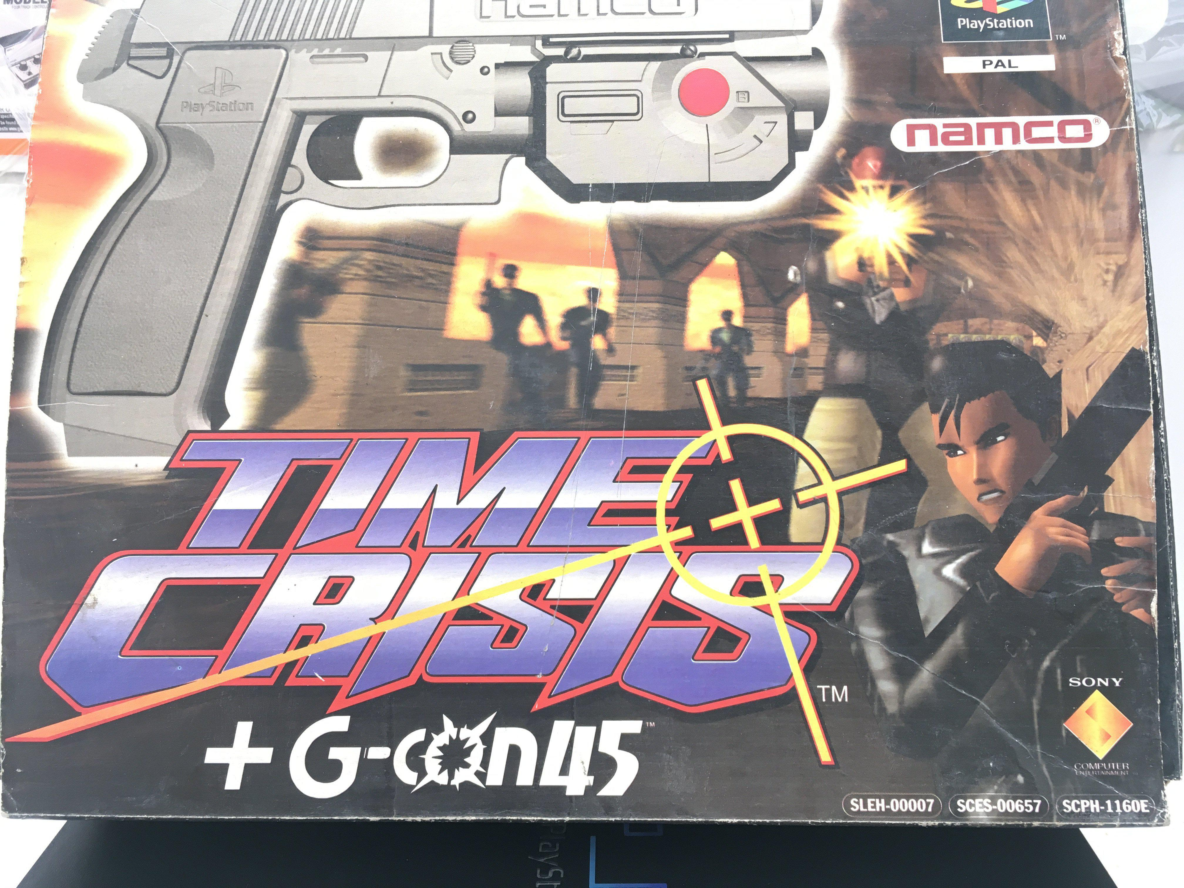 A PlayStation 2 with 4 Games including Time Crisis - Image 2 of 2