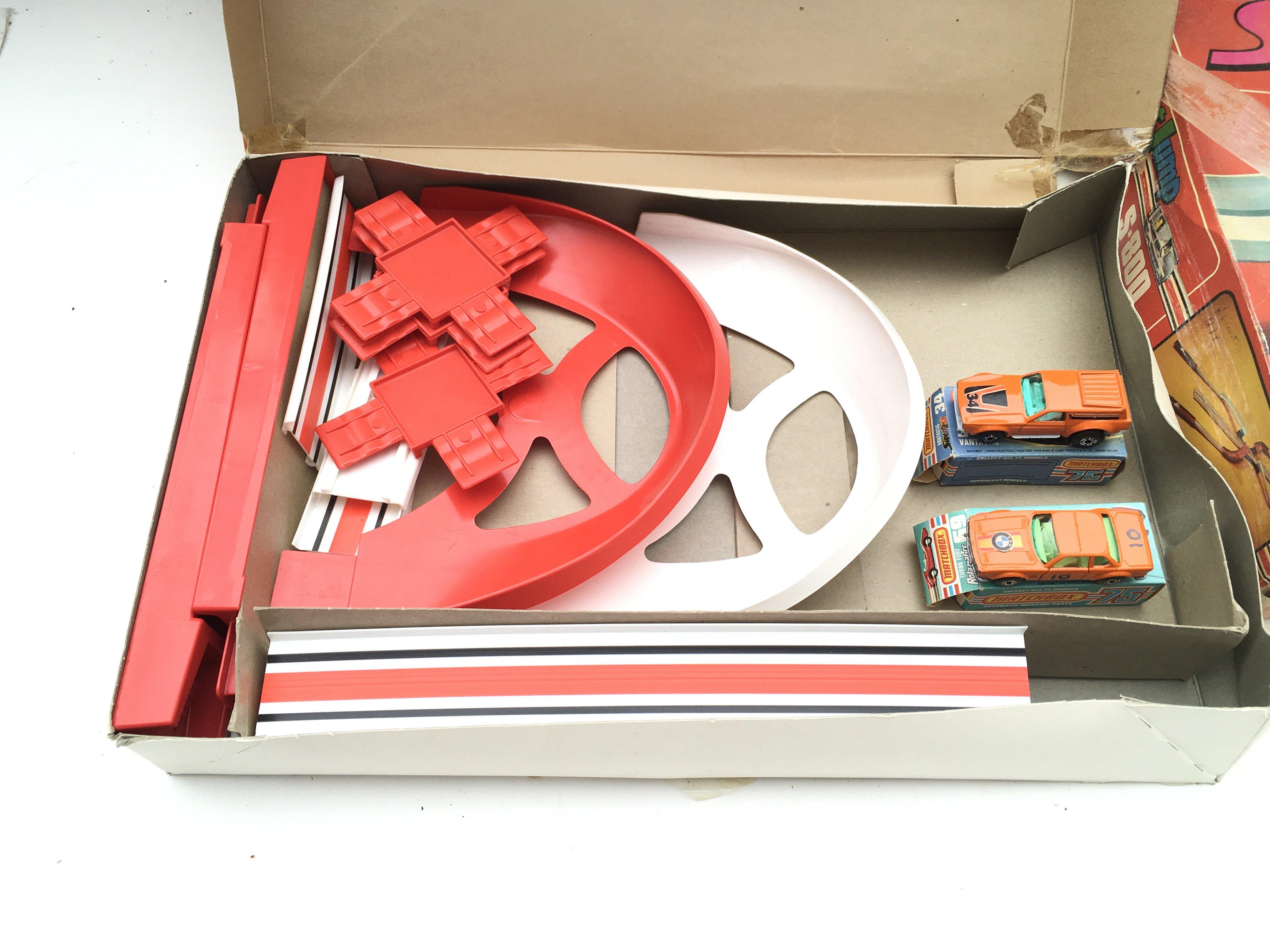 Collection of vintage matchbox tracks. Streak racing. Stunt jump. Streak hit n miss. - Image 2 of 4