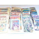 Large collection of comic books including Beano - Topper - Buster - DC comics - first comics.