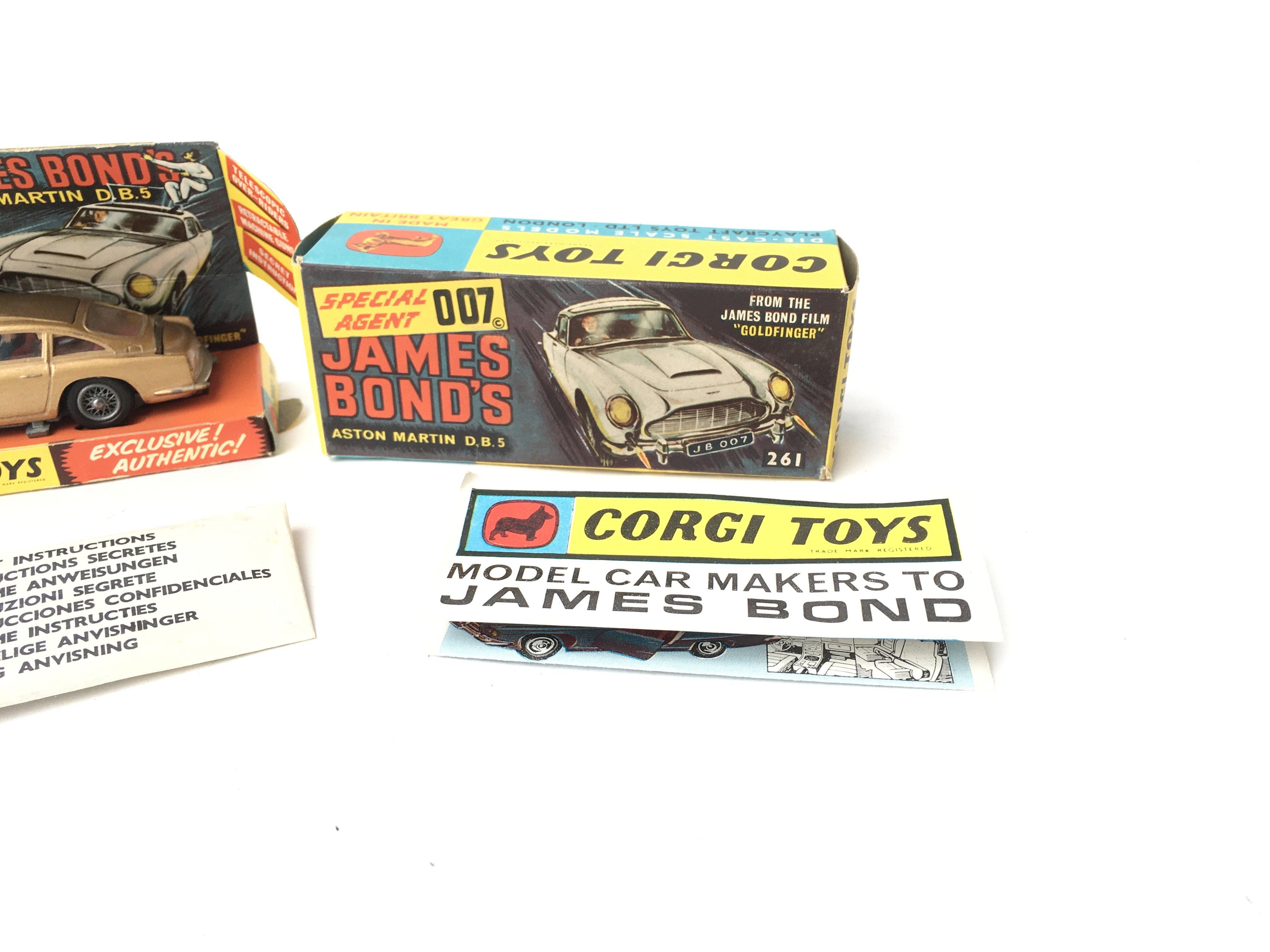 A Boxed Corgi James Bond Aston Martin D.B.5 #261. - Image 3 of 5