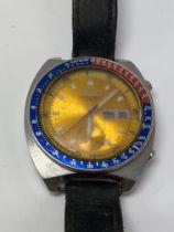 A Seiko Pogue1970s chronograph wristwatch. ( in ne