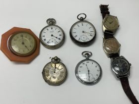 A Collection of vintage watches and pocket watches