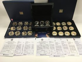 A collection of Commemorative coins, Royal Wedding