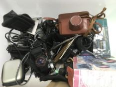 A collection of cameras and accessories - NO RESERVE