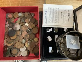 A collection of mixed coinage - NO RESERVE