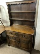 An oak old charm dresser, 97 x 174 x 48cm - NO RESERVE