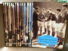 Images Of Sport Football Books: Collection of individual club soft cover books. (16)