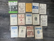 Scottish Football Programmes: Queen of the South dated 10 1 1948 8 pager with tears may not be