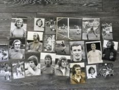 1970s Scottish Football Press Photos: Plenty of Celtic and Rangers plus others. Different sized