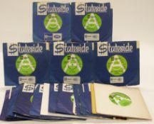 Promo / Demo - 29 singles on green and white Stateside