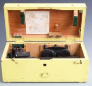 Canadian Kodak Co Ltd gun sighting telescope Patt.G 376 serial number can 4059, in fitted box with