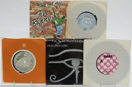 Approximately 300 singles mostly 1960s and 1970s