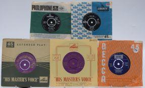 Approximately 300 singles mostly 1960s including Neil Sedaka, Johnny Preston, Graham Bonney, Gary US