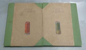 Eley Kynoch shotgun cartridges shop, advertising or tradesman's desk blotter with hand painted