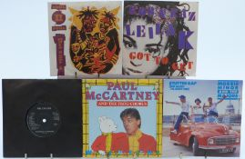 Approximately 60 singles from the 1960s to 1980s