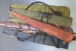 Seven padded gun slips including one Maionchi.