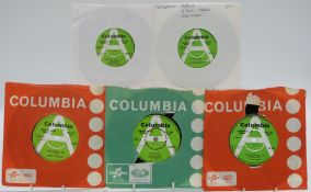 Promo / Demo - 38 singles on green and white Columbia