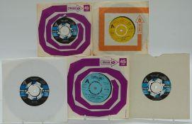 Promo / Demo - Approximately 120 singles on Bell, MCA, Uni, MAM, CBS, RCA, EMI, President, United
