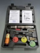 Blitz Turbocut 9mm captive bolt gun, new in original fitted case with accessories and blanks.