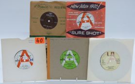 Bobby Vee - 46 singles including three Liberty demos and Devil Or Angel (D82 x 45) Hong Kong issue