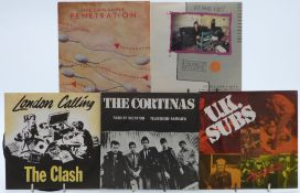Punk - 40 singles including Richard Hell, The Jam, The Cortinas, The Clash, The Boomtown Rats,