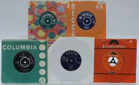 Approximately 300 singles mostly 1960s including The Move, Mungo Jerry, Alma Cogan , Anthony Newley,