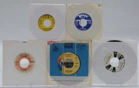 Approximately 100 US issue singles