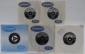 London - Approximately 100 singles on London