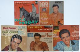 Elvis Presley - Approximately 50 singles and EPs
