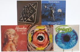 Approximately 200 singles mostly 1980s and 1990s including Bad Manners, Madness, Blondie, The Icicle
