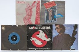 Approximately 200 singles from the 1960s to 1980s