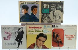 Approximately 80 1960's E.P's including Billy Fury, The Shadows, The Blue Diamond, Elvis Presley,