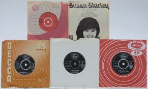Approximately 300 singles mostly 1960s including The Troggs, The Tremeloes, Dionne Warwick, The