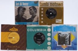 Approximately 250 singles, mostly 1960s and 1970s