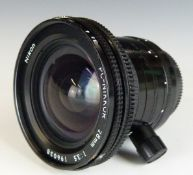 Nikon PC-Nikkor 28mm 1:3.5 camera lens