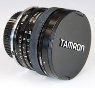 Tamron 17mm 1:3.5 SLR camera lens with Adaptall 2 N/AI Nikon mount