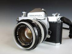 Nikon Nikkormat FT2 SLR camera with 50mm 1:1.4 lens