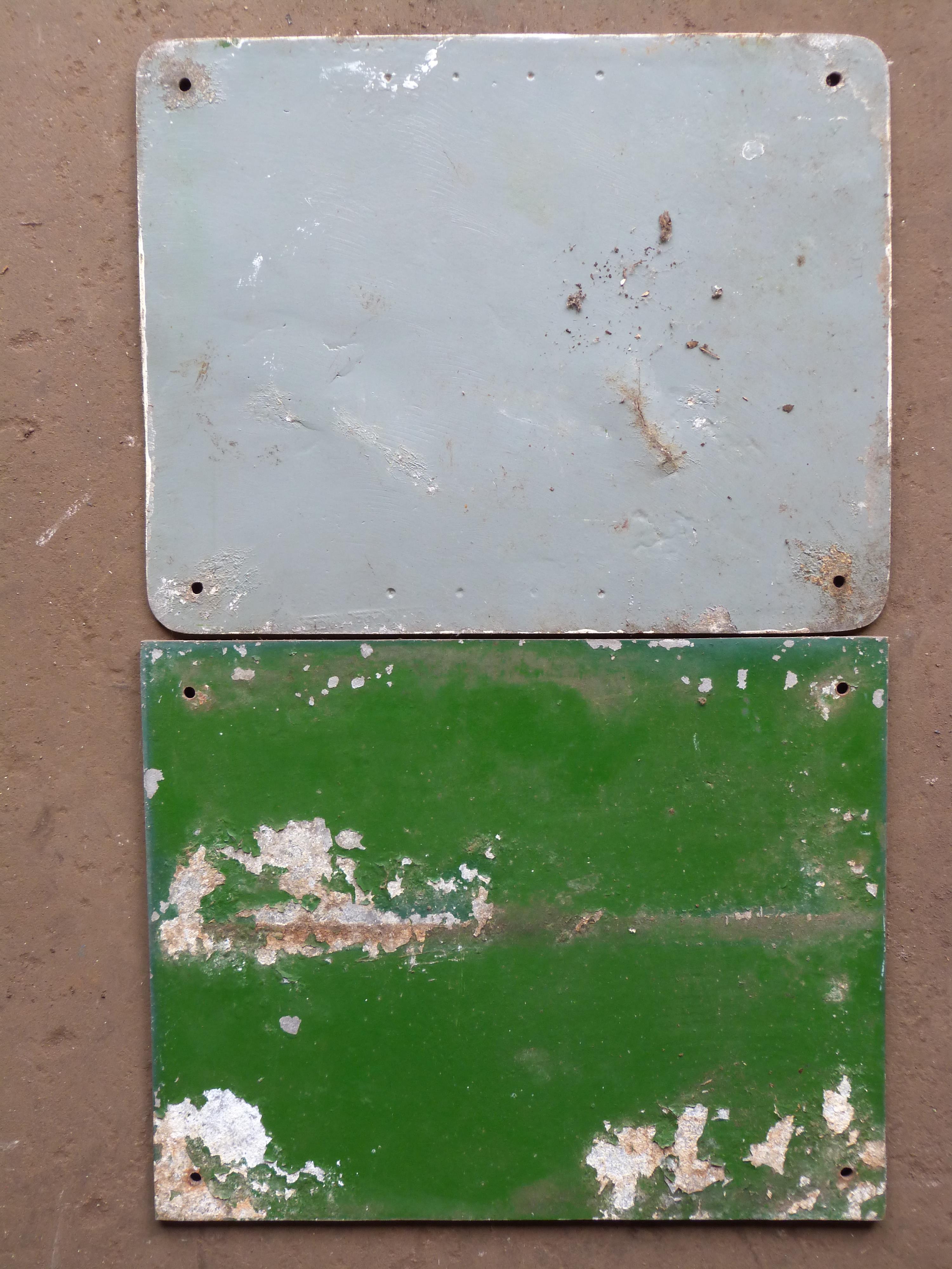 Two cast aluminium Malvern Hills Conservators signs, 30 x 38cm - Image 2 of 2