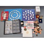 A large amateur collection of coins, Roman onwards, includes overseas, UK coin presentation packs,