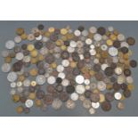 An interesting collection of overseas coins 18thC onwards, also includes 'pirate cob coins',