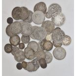 Approximately 357g of mainly Victorian pre-1920 silver coinage