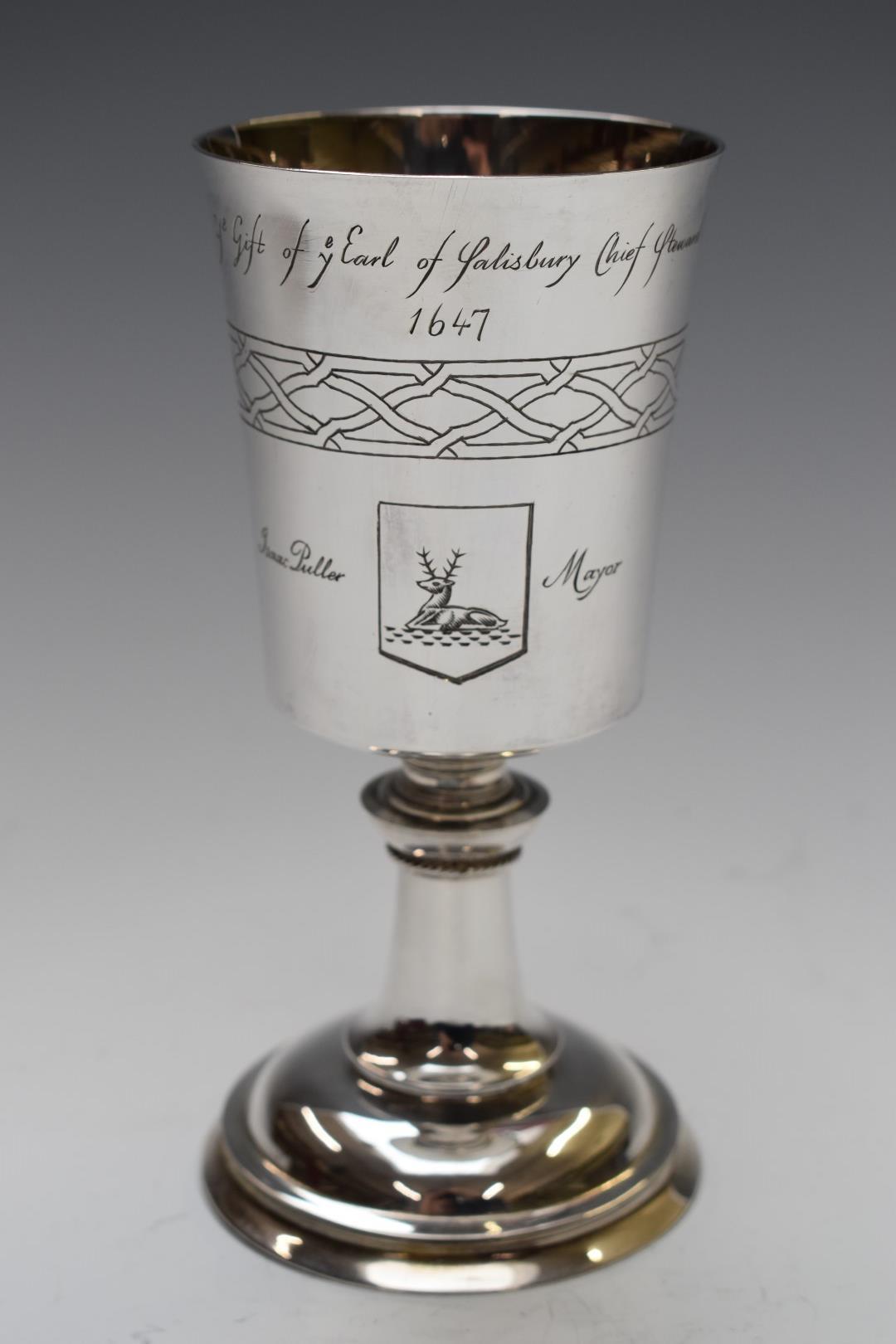 Garrard & Co. Ltd boxed hallmarked silver limited edition (782/1300) commemorative Hertford - Image 2 of 5