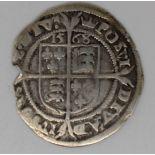Elizabeth I 1568 hammered sixpence