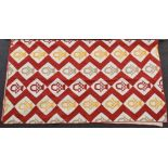 19thC American quilt purchased by the vendor in the 1970s and believed to originate from Alabama.