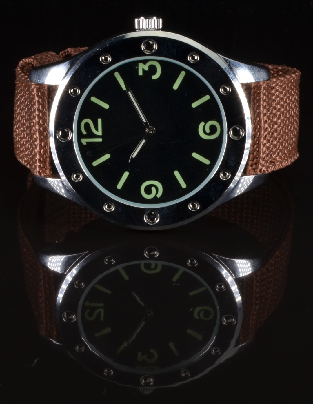Egyptian Naval Commander's military diver's style gentleman's wristwatch with luminous hands and - Image 2 of 3